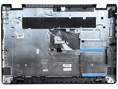 HT-ImEx - Carcasa inferior / parte inferior negra compatible con Lenovo Yoga 510-14IKB (80VB), 510-14ISK, 510-14ISK (80S7).