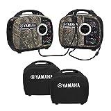 Yamaha EF2000iSv2 Portable RV Generator 2000 Watt Kit in Camo...