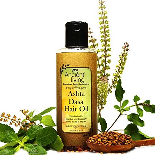 Ancient Living Ashta Dasha hair oil for healthy and strong hair - 100 ml