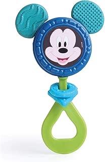 Chocalho Mickey, Elka, Azul Escuro Com Azul Claro