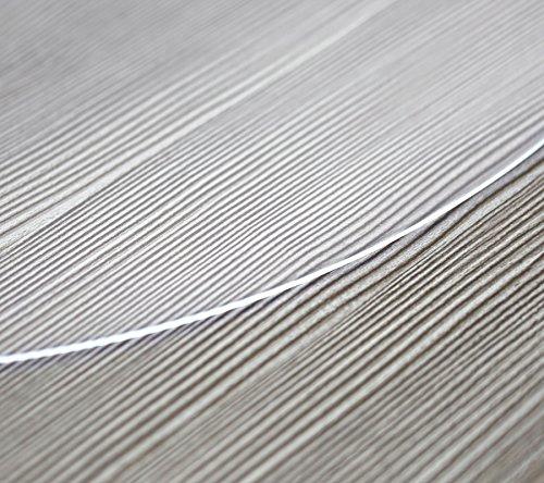 Glasklar Folie 2 mm transparente Tischdecke RUND, Schutzfolie Tischschutz, Größe wählbar (Rund 80 cm)