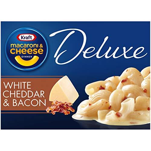 Kraft Deluxe White Cheddar & Bacon Macaroni & Cheese Dinner (11.9 oz Box)