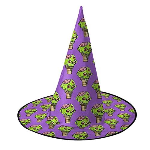 Halloween Zombie Manos Halloween Bruja Sombrero para Mujeres, Disfraz de Bruja Sombrero de Fiesta Decoraciones para Halloween Cosplay Disfraz