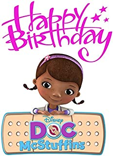 Doc McStuffins - Birthday - For Light-Colored Materials - Iron On Heat Transfer 5