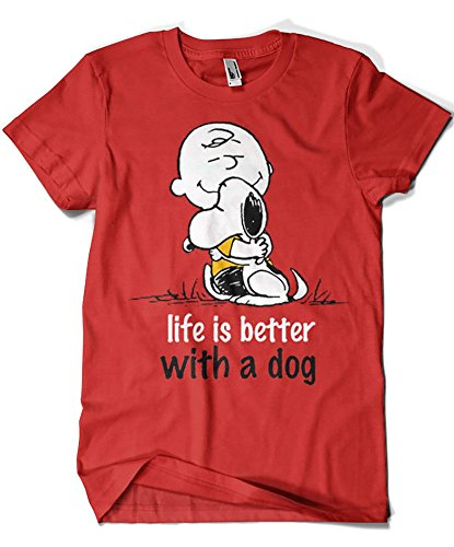 1509-Camiseta Snoopy - Life is Better