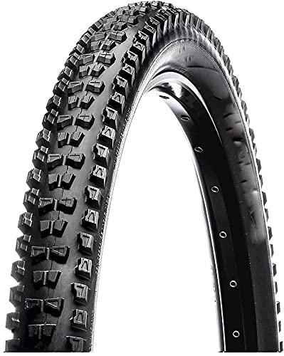 Qivor Neumático de Bicicleta Adulto Unisex, Negro, 27.5 x 2.50