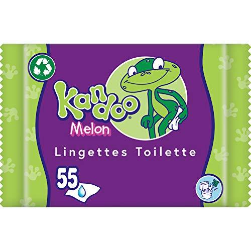 Kandoo Melone Feuchttücher (55 Stück)