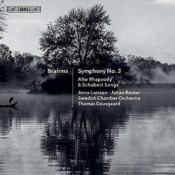 Brahms: Symphony No. 3, Alto Rhapsody & 6 Schubert Songs