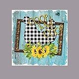 Eeypy Holzschilder für den Außenbereich, Motiv: Coop Sweet Coop