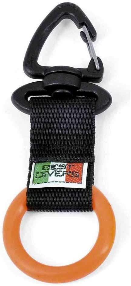 Best divers Clip Ring Colorado cheap Springs Mall Silicone Black Orange Adul Ribbon Unisex