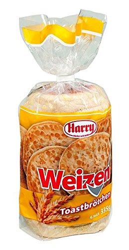 Harry Brot Weizen Toastbrötchen 10 Packungen a 335g