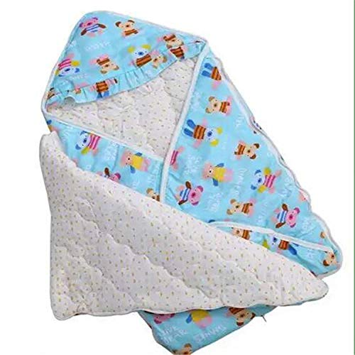 CAIYIXIONG Unisex Baby Sleeping Bag 0-12 Months Multifunctional Autumn Winter Cotton Sleeping Bag Baby Swaddle Baby Blanket Children's Sleeping Bag