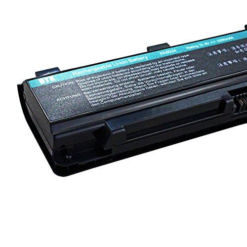 DTK® Ultra Hochleistung Notebook Laptop Batterie Li-ion Akku für Toshiba PA5023U-1BRS, PA5024U-1BRS, PA5025U-1BRS, PA5026U-1BRS, PABAS259 , PABAS260, PABAS261, PABAS262, Satellite L850 Series [10.8V 6-cell 5200mAh]