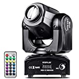 UKing 40W Moving Head DJ Light,Disco Lights 8 Gobos 8 Colors with Remote Controller DMX512 Sound Activated, 11CH Spot Stage Lights for Party Bar Event Ballroom