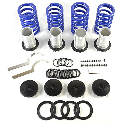 Adjustable Coilover Coil Springs Lowering Suspenion Kit fit for 1990-2001 Acura Integra Honda 1990-2002 Accord & 1988-2000 Civic & 1993-1997 Civic del Sol & 1988-1991 CRX & 1992-2001 Prelude