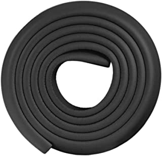 2 m de espuma Tira protectora de esquina para parachoques de beb/é KingNew protector para parachoques marr/ón