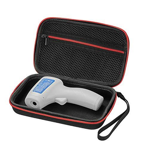 Linghuang - Funda rígida para termómetro Auricular, bolsa de almacenamiento para termómetro de infrarrojos y carcasa de uso doméstico, práctica y portátil, resistente al desgaste
