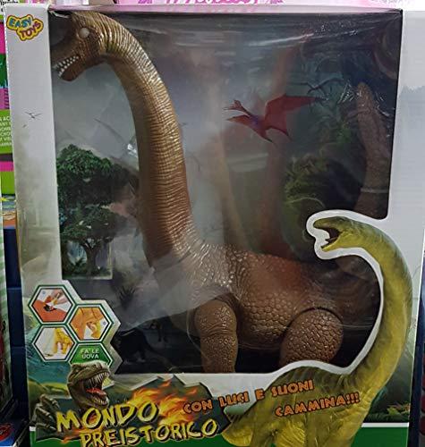 Easytoys Dinosauro CAMMINANTE - BRONTOSAURO Colori Assortiti Vendita UNITARIA