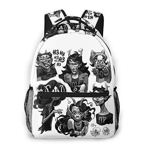 Homestuck Casual Theme Backpack School Bag Hiking Casual Bag