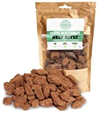 Pets Purest Natural Dog Treats 100% Pure Beef Bites Air-Dried Food for Dogs - Just One Ingredient - Grain, Gluten & Lactose Free - Deliciously Healthy Raw Dog Treat for Dog Puppy Senior Adult (300g)