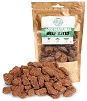 RAW & HEALTHY DOG TREATS: Treat your canine to a pure and delicious reward snack that isn't associated with the problems of unhealthier dog chew products. Beef is the only ingredient making it a perfect pet safe alternative for a good boy or girl. JU...