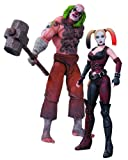 DC Collectibles Batman: Arkham City: Mr. Hammer and Harley Quinn Action Figure, 2-Pack...
