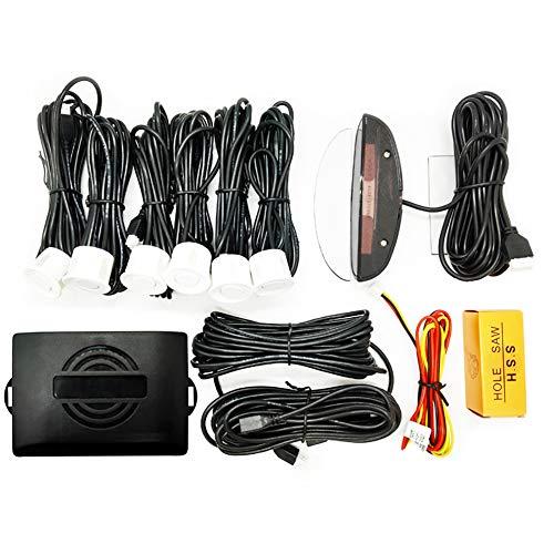 Lowest Price! FENNGG LED Display Parking Sensor Kit Car Reverse Backup Radar System Auto Safety Alar...