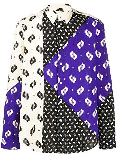 Kenzo Fashion Mens FA55CH4061PA99 Multi kleuren Shirt | Lente-Zomer 20
