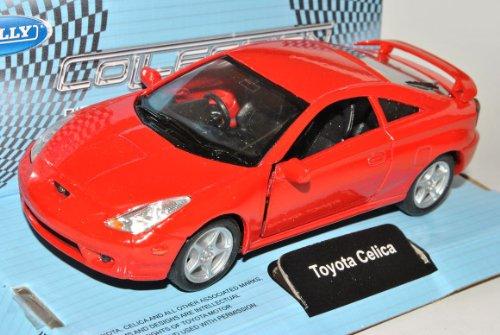 Welly Toyota Celica Coupe Rot T23 1999-2005 ca 1/43 1/36-1/46 Modell Auto mit individiuellem Wunschkennzeichen