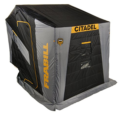 Frabill Citadel 3455 Insulated Flip-Over W/Bench Seat Black/Gray
