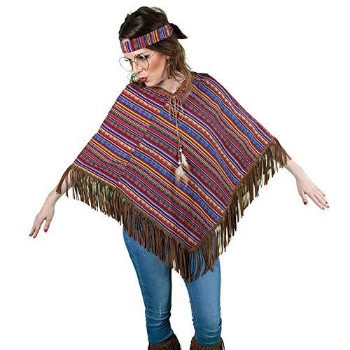 WOOOOZY Poncho Hippie Festival, Einheitsgröße