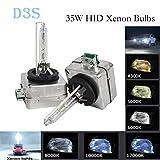 GOFORJUMP 1 coppia D3S Xenon HID lampadina 12 V 35 W D3S Xenon lampada per auto faro sostituzione luce D3S D3C 4300 k 5000 K 6000 K 8000 K 10000 K 12000 K bianco