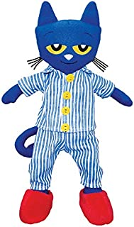 MerryMakers Pete the Cat Bedtime BluesPlush Doll, 14.5-Inch