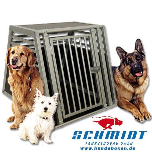 Schmidt-Box Hundebox Einzelbox ALU UME 80/93/68 (für Grosse Hunde)