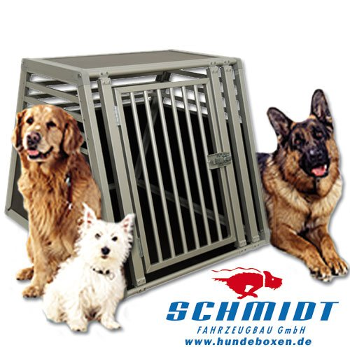 Schmidt-Box Hundebox Einzelbox UME 55/93/68 (Grösse L)