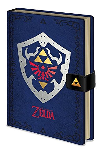 "Pyramid International The Legend Of Zelda Notizbuch\""Hylian Shield\"" A5"