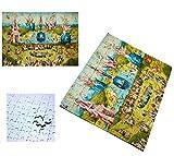 PUZZLE 96 PIEZAS JARDIN DE LAS DELICIAS EL BOSCO rompecabezas educativo puzle