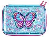 Maxmilli Smiggle dernière Miroir Glossy Trousse Joli Cadeau pour votre Petite princesse Papillon Bleu