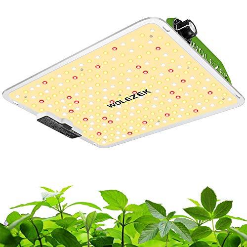 WOLEZEK LED Grow Lampe 1000W Pflanzenlampen wachsen Licht Wachstumslampe Vollspektrum und dimmbarer Funktion für Zimmerpflanzen, Gemüse, Blume