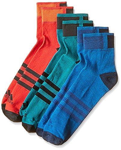 Adidas CLI ID ANKLE TC3P [maat 40-42] 3-pak sokken sneaker sokken AJ9677