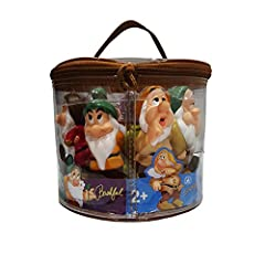 Exclusive item from the Walt Disney World theme parks and resorts 7 piece set Squeeze Toy Set features a handy carrying case, making these squeezable toys ideal for on-the-go play Includes zippered plastic tote for easy storage 3 to 5 inches in heigh...