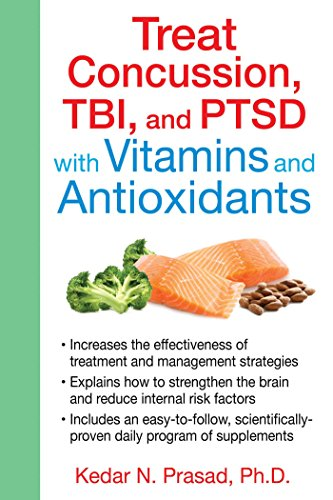 Treat Concussion, TBI, and PTSD with Vitamins and Antioxidants