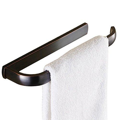 Weare Home Offene Form Wandhalter Schwarz Bronze Vintage Retro Einfachheit Handtuchhalter, matt Hochwertig