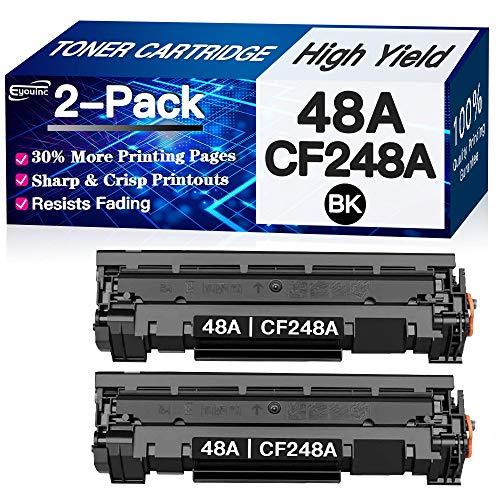 Eyouinc Compatible Toner Cartridges Replacement for HP 48A CF248A Toners use for HP Laserjet Pro M15w M29w M30w M31w MFP M28w M28a M29a M15a M16a M16w Printer Toner, 2 Black