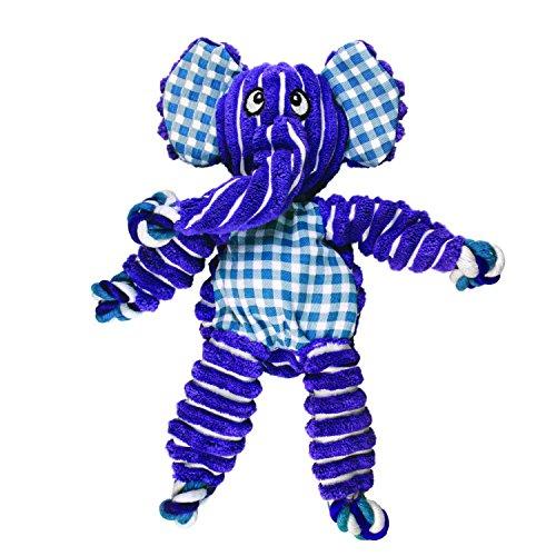 KONG Floppy Knots Elephant, Dog Toy, Small/Medium