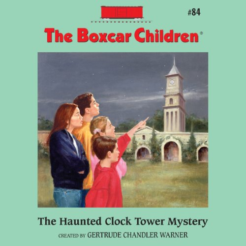 The Haunted Clock Tower Mystery audiobook cover art