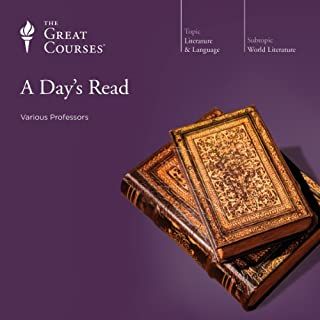 A Day's Read                   By:                                                                                                                                 The Great Courses,                                                                                        Emily Allen,                                                                                        Grant L. Voth,                   and others                          Narrated by:                                                                                                                                 Arnold Weinstein,                                                                                        Emily Allen,                                                                                        Grant L. Voth                      Length: 18 hrs and 25 mins     136 ratings     Overall 4.1