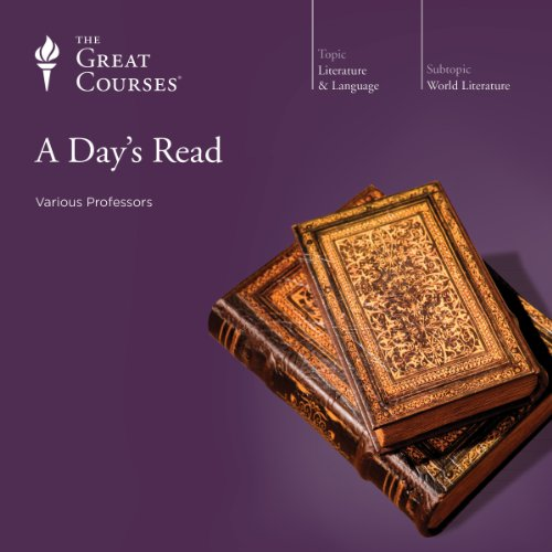 A Day's Read                   By:                                                                                                                                 The Great Courses,                                                                                        Emily Allen,                                                                                        Grant L. Voth,                   and others                          Narrated by:                                                                                                                                 Arnold Weinstein,                                                                                        Emily Allen,                                                                                        Grant L. Voth                      Length: 18 hrs and 25 mins     13 ratings     Overall 4.1