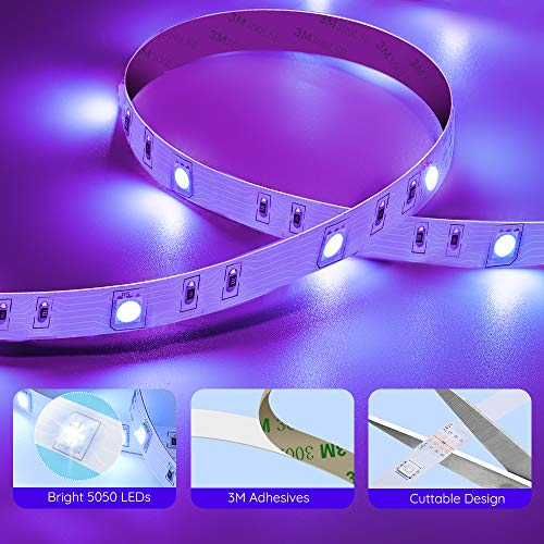 Govee Led Strip Lights, 65.6 Feet with Remote Control, RGB, for Bedroom, Ceiling, Kitchen 3