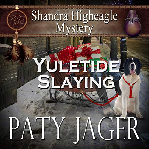 Yuletide Slaying audiobook cover art